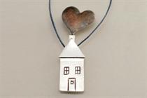Εικόνα της σπίτι καρδιά με καπνό